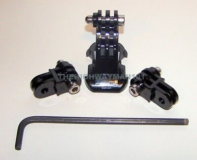 Genuine Gopro Helmet Front Mount j-hook with 2 extensions and allen screws