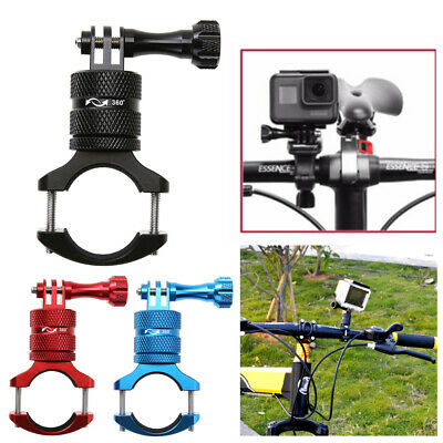 Aluminium Alloy Bicycle Motorcycle Handlebar Mount Holder Clamp For GoPro Hero