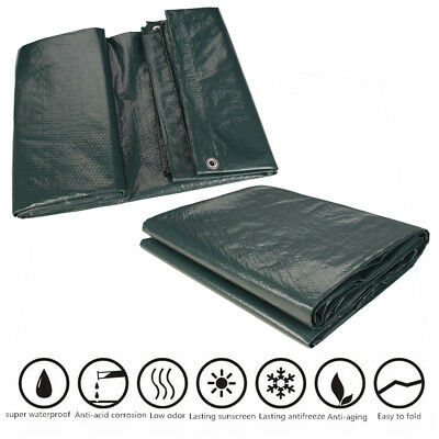 Strong Waterproof Tarpaulin Camping Ground Sheet & Outdoor Army Protector Covers