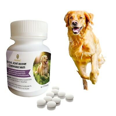 Dog Joint Recovery Chewable Tablets -170 pcs with Glucosamine, Chondroitin Su...