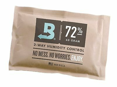 Boveda 72-Percent RH Individually Over Wrapped 2-Way Humidity Control Pack, 6...