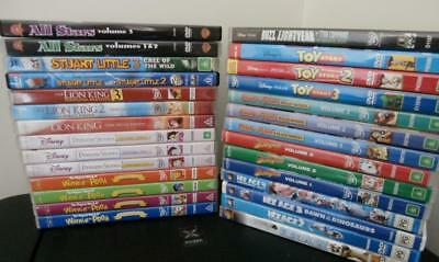 Walt Disney & Childrens DVD Collection - Great Titles, Full Sets