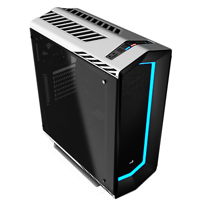 Aerocool Project 7 P7-C1 USB 3.0, 7 Color LED Front panel Mid Tower Case - White
