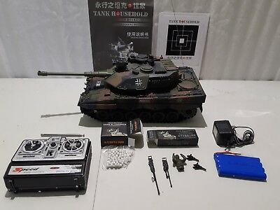 1/20 Full Function Scale Model RC Airsoft Tank Crawler Heng Long FastShip Canada