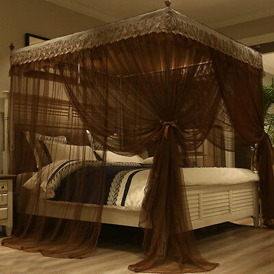Canopy mosquito net Fr summer anti-mosquito netting bed nets embroidered+Frame