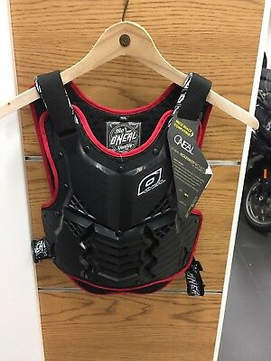 Oneal Holeshot armor black/Red M/L