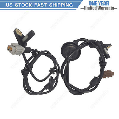 2x For 02 03 04 05 06 Nissan Altima 2.5L 3.5L Front ABS Wheel Speed Sensor