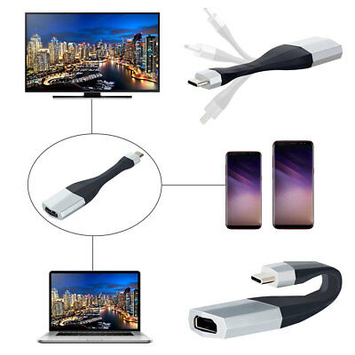 USB-C 3.1 Cable Type C to HDMI 4K HDTV Adapter For Samsung S8 S9 S9+ Note 8 LG