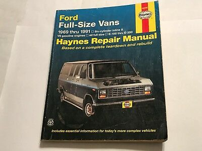 Ford full size vans haynes repair manual 6 cyl in line v8 e100 ford full size vans haynes repair manual 6 cyl in line v8 fandeluxe Choice Image