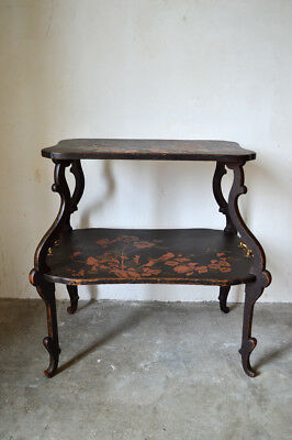 Table à thé / Desserte indochinoise Majorelle 1890 livraison possible