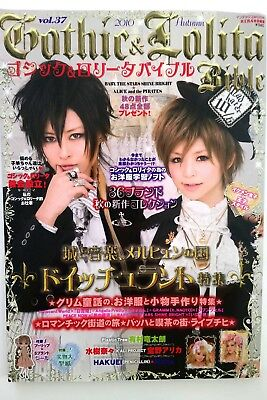 Gothic & Lolita Bible Vol. 37 Zeitschrift Japan Fashion Visual Kei Schnittmuster