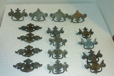 Lot Of 16 Mixed Sets Of Vintage  Dresser Pull Handles Draw Pulls