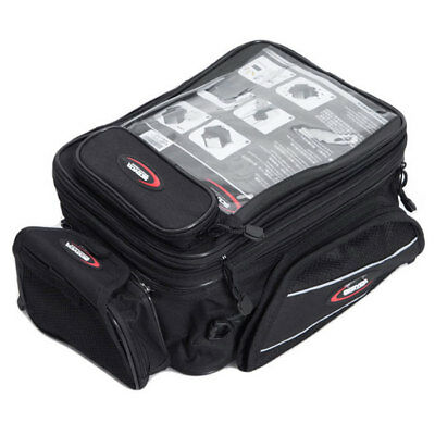 Motorcycle Magnetic Fuel Tank Bag Motorbike Rear Seat Tail Bag Luggage iPad MB09