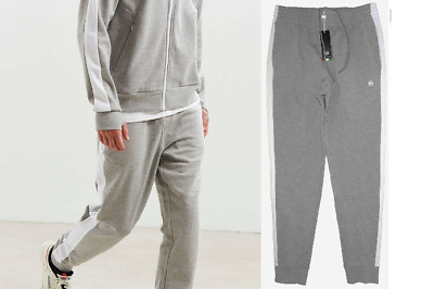 20189bfc new SERGIO TACCHINI French Terry SWEAT PANTS men's L gray track gym run  jogger