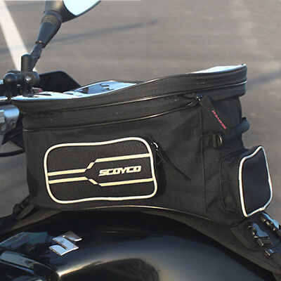 Waterproof Motorcycle Fuel Tank Bag Motorbike Rear Seat Tail Winter iPad MB21