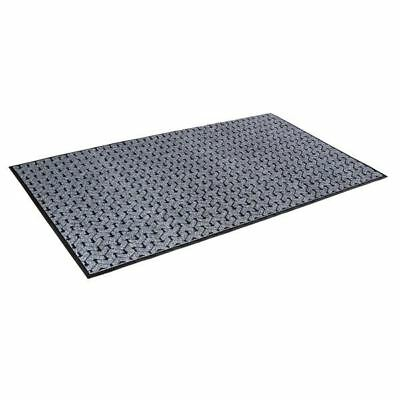 """Crown TE0023GY 2' X 3' GRY 3/8"""" Tire-Track"""
