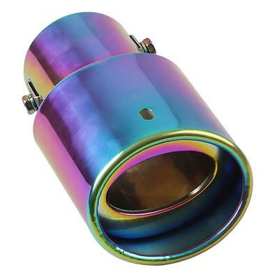 Stainless Steel Car Auto Vehicle Exhaust Muffler Tail Pipe Tip Trim 64mm