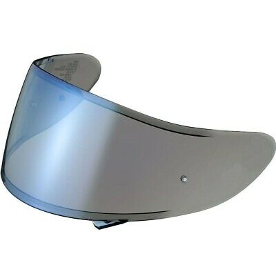 Genuine Shoei CNS-1 Blue Spectra Mirror visors for the GT Air Motorcycle Helmets