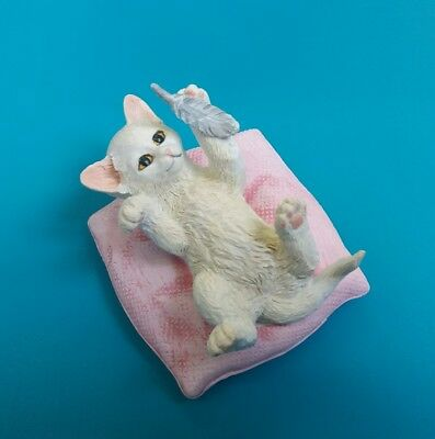 Country Artists Playtime Cat kitten Figurine New Boxed CA04119