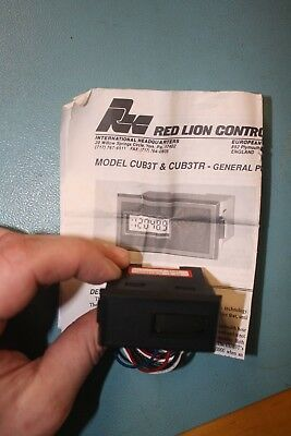 Red Lion Controls Cub3Tr Digital Counter