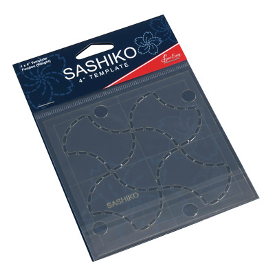 Sew Easy Sashiko Embroidery Template 4 x 4in Fondou (Weights ERS.005)