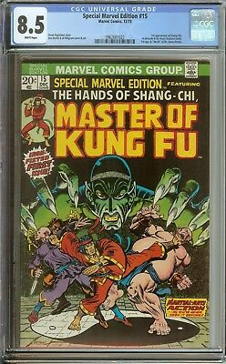 Special Marvel Edition #15 Cgc 8.5 // 1St Appearance Of The Master Of Kung Fu
