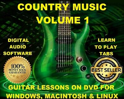 Country Music Vol 2 3616 Guitar Tabs Software Lesson Cd 702
