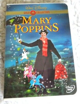 Disney Mary Poppins (DVD Gold Collection Edition) Julie Andrews, Dick Van Dyke