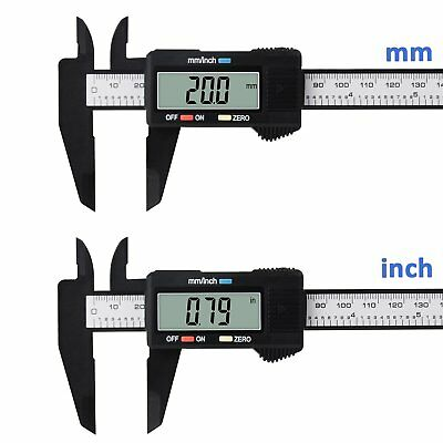 Digital Electronic Caliper Stainless Steel Vernier 6inch 150mm Gauge Micrometer