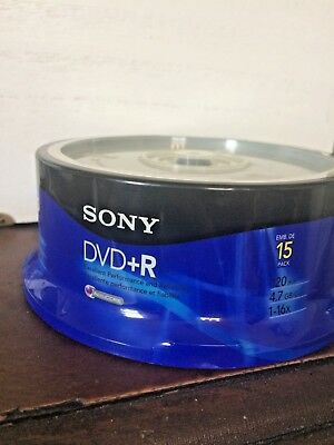 Sony DVD+R AccuCORE 15PK
