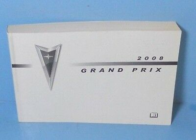 2008 pontiac grand prix owners manual and case 28 77 picclick rh picclick com 2006 pontiac grand prix owners manual 2007 pontiac grand prix owners manual