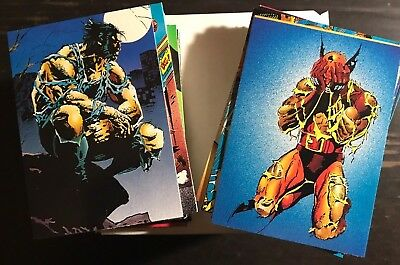 1992 Comic Images Wolverine 2: From Now 'Till Then - Complete Set Mint