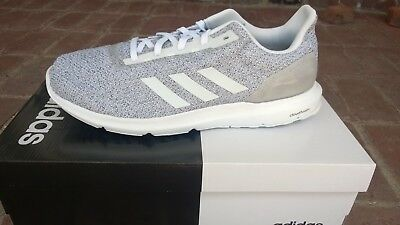 4d8d5fb09db7 ADIDAS COSMIC 2 White Grey Men s Running Training Shoe Size 12 New w ...
