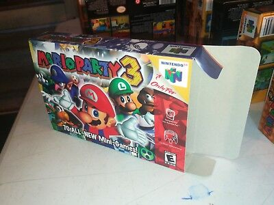 Mario Party 3 Box Only N64 Replacement Art Case/Box! Nintendo 64!