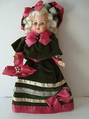 VINTAGE DOLL in Victorian Dress! Very Cute! Possibly Martha Washington Doll!?