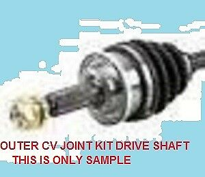 Cv Joint Kit Drive Shaft For Toyota Tercel Al25 4Wd Model 1982 88 Engine 3A New