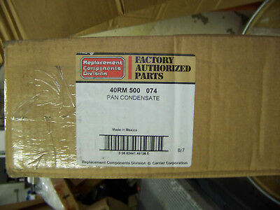 Fatory Authorized Parts Condensate Pan 40RM500074 New