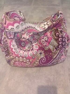 32a88b5ce595 VERA BRADLEY Limited Edition Silk Paisley Collection Daphne EUC ...