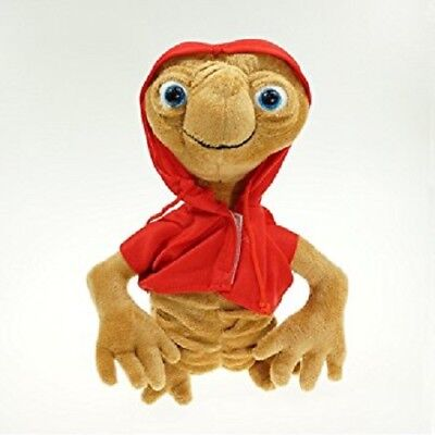 """Extra Terrestrial Red Hoodie Plush Soft Toy ET Stuffed Doll 9"""" 23 cm tall"""