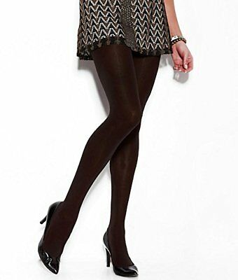 836V1 DKNY 0B571 Luxe Opaque Comfort Control Top Tights Small SM Salmon