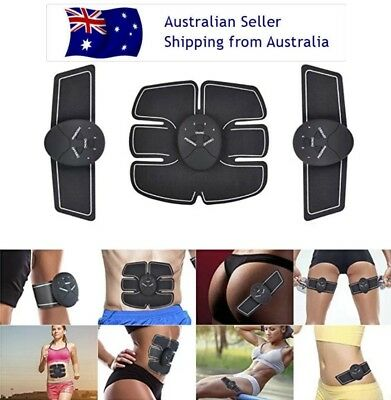 Abdominal Exercise Equipment Muscle Trainer Abs Ab Electric Stimulator Massage9'