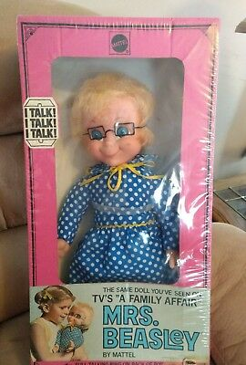 Original 1967 Mattel Mrs. Bealey Doll, in Original Box, still sealed