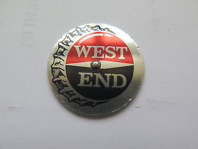 WEST END BEER SOUTH AUSTRALIAN BREWING Co Ltd SPINNER YOU PAY for the WEST END