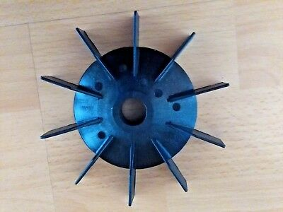 Plastic Cooling Fan Replacement Electric Motor Impeller Bore 19 mm lot of 2 pcs
