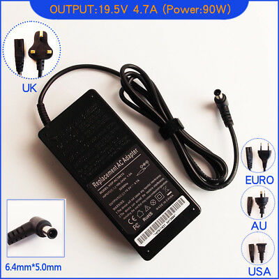Ac Power Adapter Charger for Sony Vaio E17 SVE17129CCW SVE1712A4E Laptop