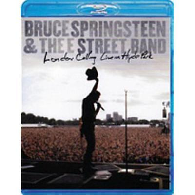 BRUCE SPRINGSTEEN LONDON CALLING LIVE IN HYDE PARK BLU-RAY ALL REG. NEW unsealed