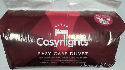 Cosynights Easy Care Duvets Pillows Single Double King Super King 15.0 Tog Quilt