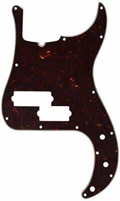 Fender 4-Ply Brown Shell 13-Hole, 5-String Precision Bass® Pickguard (TR Notch)