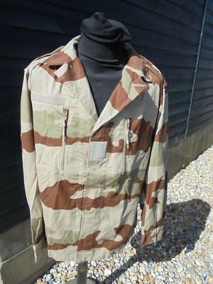 NEW French Military Army Desert Camouflage Shirt Sizes 88M 96L 104M 104L