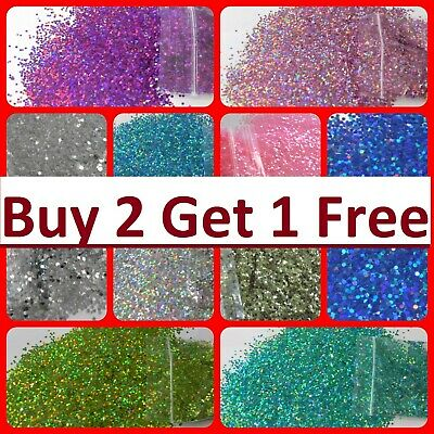 Glitter Chunky Cosmetic Craft Lip Body Hair Lip Face Holographic Metallic Neon